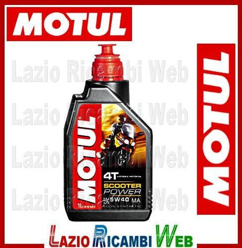 MOTUL OLIO SCOOTER POWER 5 w 40 - 1 LITRO