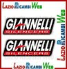KIT DI DUE ADESIVI GIANNELLI FORMATO 120 x 40 mm