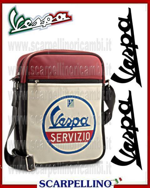 Lazio Vespa Borsa Tracolla Servizio Ricambi Nera Web x7zxqg