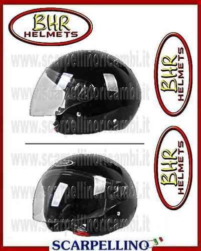 CASCO BHR HELMETS LIBERTY NERO 704