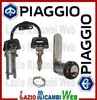 KIT SERRATURE PER PIAGGIO APE 50 258664 565368